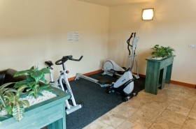 Mini fitness studio